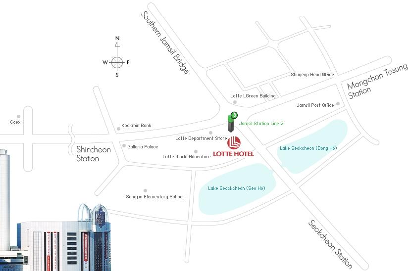 Embedded systems week 2006 map around lotte hotel world jamsil area gumiabroncs Image collections