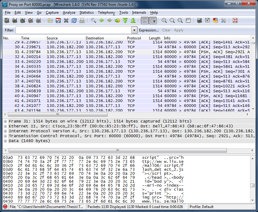 Wireshark Lab: HTTP
